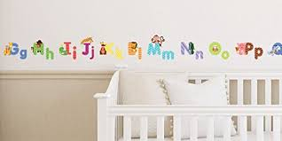 Animal Alphabet Wall Decals Baby And Toddler Wall Decor Fun Abc Wall Stickers For Nursery And Kids Rooms A Kids Boutique