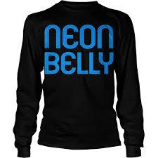 neon belly jiu jitsu shirt for bjj