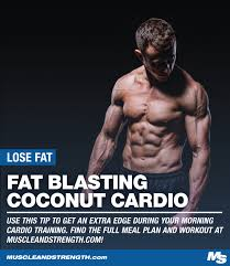 Coconut Cardio: An Early Morning Strategy to Get Super Shredded | Cardio,  Cardio burn, Fitness body