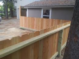 3 Men Fencing 3 Ft 6 In Tall Cedar Pucket Fence With Facebook