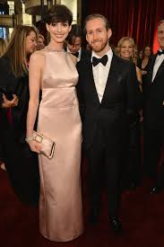 Anne Hathaway and Adam Shulman at the Oscars 2013 | POPSUGAR Love & Sex