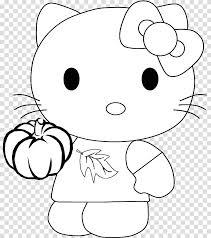 Hello Kitty Coloring Book Drawing Kleurplaat Child Bb 8