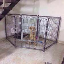 6 Panel Metal Pet Playpen Fence Cage Fence Dog Cat Rabbit Pet Supplies Pet Accessories On Carousell