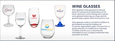 custom personalized wine glasses