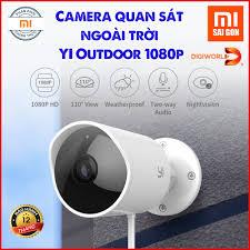 BẢN QUỐC TẾ ] Camera IP giám sát ngoài trời YI Outdoor 1080p - Mã H30  -Digiworld phân phối ; bảo hành 12 tháng