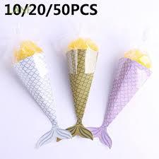 Set 10/20/50 túi đựng bánh kẹo sinh nhật dành cho trẻ em
