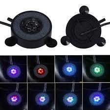 Nhiều màu sắc Dưới Nước Đèn LED Tròn Cá Đèn 6 Đèn LED Bong Bóng Khí Bể Cá  Chìm Bể Bơi Ánh Sáng dưới nước led ánh sáng hồ bơi ánh sánghồ bơi ánh