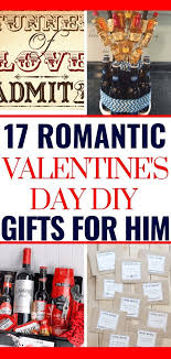 diy valentines gifts for him