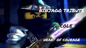 Heart Of Courage - Ninjago (Cole) Tribute - YouTube