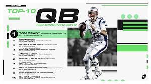 PFF ranks the top-10 quarterbacks entering the 2019 NFL season ...