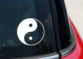 Yin Yang Decal Sticker For Car Window Laptop Wall Mymonkeysticker Com