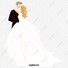 زوجين العروس العريس تقبيل الزفاف عشاق العروس العريس Png وملف