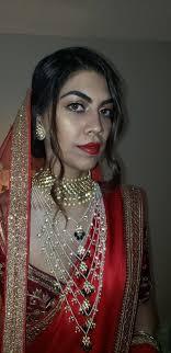 wedding makeup for the beautifu bride