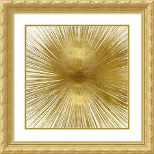 Amazon.com: Framed Wall Art Print Radiant Gold by Abby Young 27.00 ...