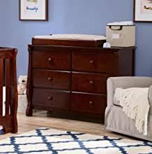 Amazon Com Delta Children Universal 6 Drawer Dresser Espresso Nursery Dressers Baby
