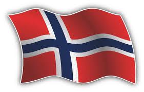 Norway Wavy Flag Car Bumper Sticker Decal Etsy