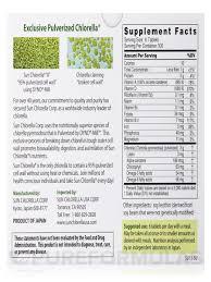 chlorella tablets 500 mg 600 tablets
