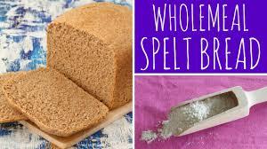 wholemeal spelt bread recipe