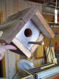 Rustic Wood Birdhouses Made From Recycled Fence Board Wood Birdhouses Recycled Wood Projects Fence Board Crafts