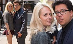 Michael McIntyre supports wife Kitty at ...