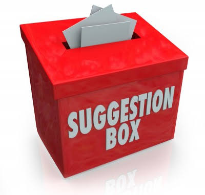 """Image result for suggestion box"""""""