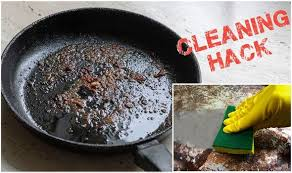 Cleaning trick: Best way to transform greasy frying pan to glistening clean with £4 trick | Express.co.uk