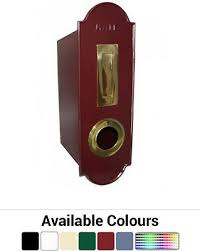 Preston Fence Or Wall Mount Letterbox Federation Style Mailbox Letter Box Ebay