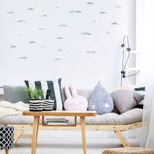 Flying Seagulls Birds And Clouds Wall Decals Plastic Free Etsy