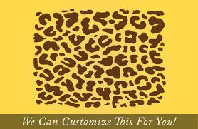 Leopard Pattern Wild Animal Wall Decor Vinyl Sticker Graphic Art Over 105 Pieces Large 2091