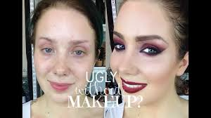 ugly without makeup you