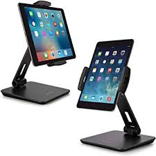 Amazon.com: AboveTEK Business Kiosk Aluminum Tablet Stand, 360 ...