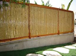 Natural Tonkin Bamboo Fence 1 X 4 X 8 Bamboo Fence Fence Panels Backyard Fences