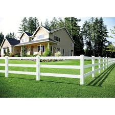 Outdoor Essentials Ranch Rail 5 In X 5 In W X 7 Ft H White Vinyl Corner Fence Post In The Vinyl Fence Posts Department At Lowes Com