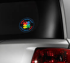 Autism Awareness Car Window Decals Aspergers Stickers Fundraising For A Cause