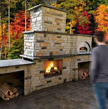 outdoor fire pit fireplace design