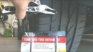 how to fix nail in tire do it