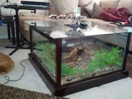 diy fish tank coffee table so