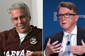 UK politician Peter Mandelson allegedly called Jeffrey Epstein in jail for  a favor
