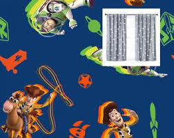 Toy Story Curtains Etsy