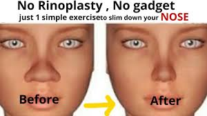 slim down your nose with 1 simple