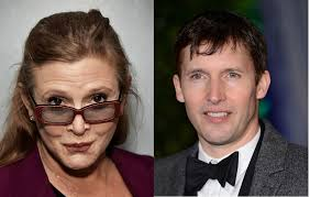 "James Blunt pays emotional tribute to ""American mother"" Carrie Fisher"