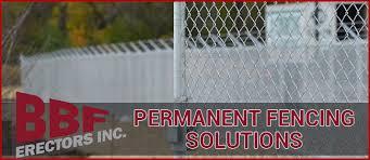 Bbf Erectors Inc Permanent And Temporary Fencing Solutions 630 543 9882