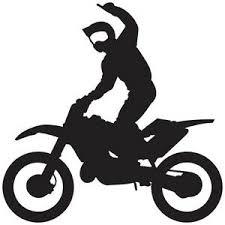 Motocross Dirt Bike Sport Superman Riding Window Boat Vinyl Decal Sticker Mc 1 Ebay