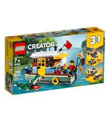 lego creator 3 in 1 riverside houseboat