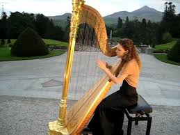 irish harpist claire o donnell for