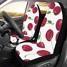 com cute car seat covers cherry