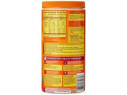 1 multihealth fiber powder orange