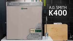 Trên tay máy lọc nước A.O. Smith K400 - YouTube