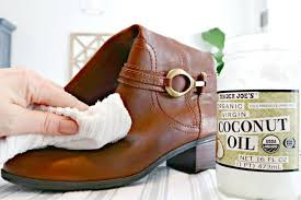 can you use coconut oil on leather