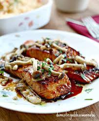 pan fried brown er honey garlic